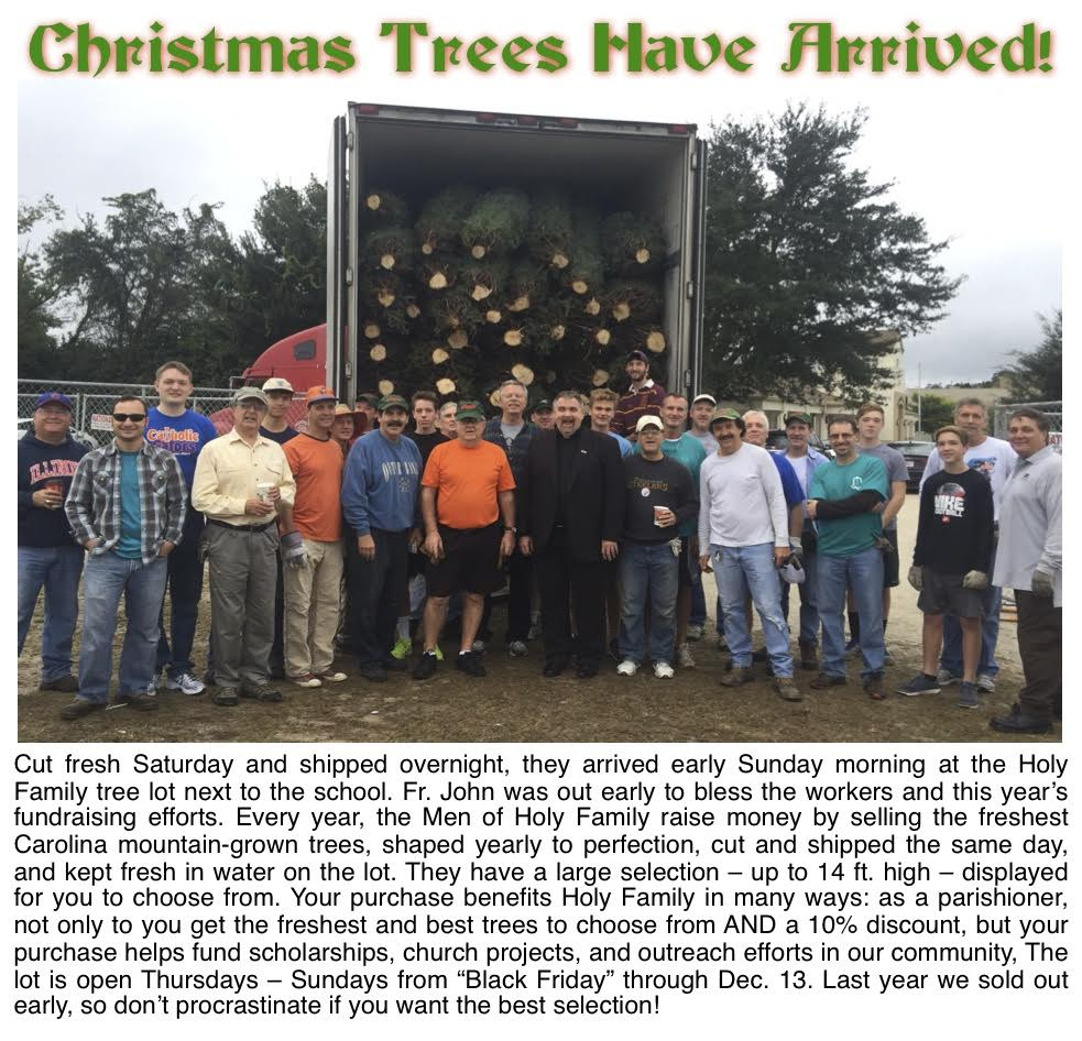 11222015 Xmas Tree Unloading